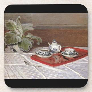 El juego de té de Claude Monet Posavaso