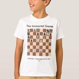 El juego del Immortal embroma la camiseta Camisas