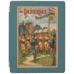 El juego femenino imperial de los soldados de cover de iPad