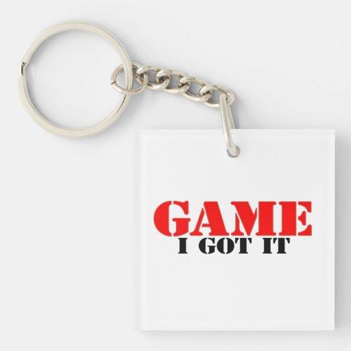 El juego I lo consiguió Llavero