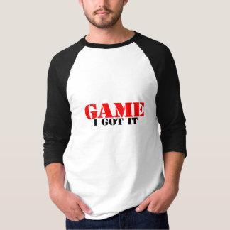 El juego I lo consiguió Playera