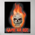 El juego o muere impresiones