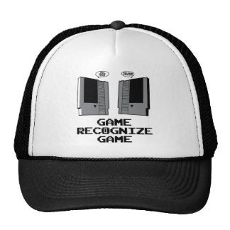 El juego reconoce el juego gorro de camionero