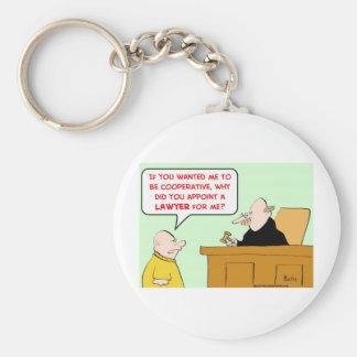 el juez designa a la cooperativa del abogado llavero redondo tipo pin