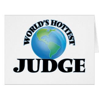 El juez más caliente del mundo tarjetón