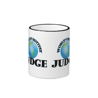 El juez más caliente del mundo taza a dos colores