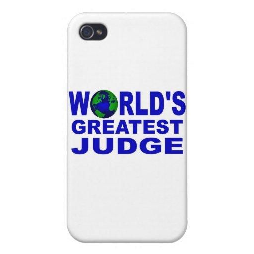 El juez más grande del mundo iPhone 4 protectores