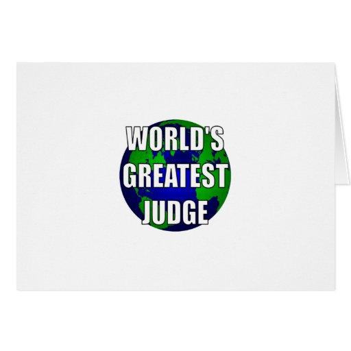 El juez más grande del mundo tarjetón
