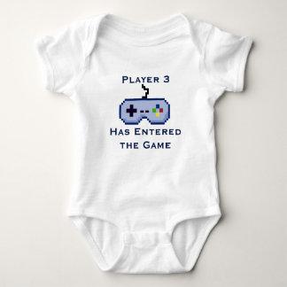 El jugador 3 ha entrado en la camisa de la