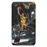 El jugador de básquet que salta en aire carcasa para iPod