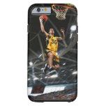 El jugador de básquet que salta en aire funda de iPhone 6 tough