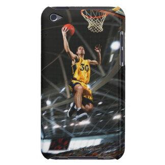El jugador de básquet que salta en aire Case-Mate iPod touch carcasas