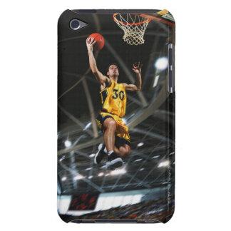 El jugador de básquet que salta en aire iPod Case-Mate cárcasas