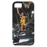 El jugador de básquet que salta en aire funda para iPhone SE/5/5s