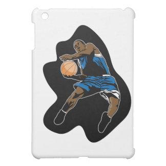el jugador de básquet salta el dunker de la clavad