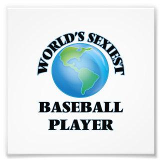 El jugador de béisbol más atractivo del mundo impresiones fotograficas