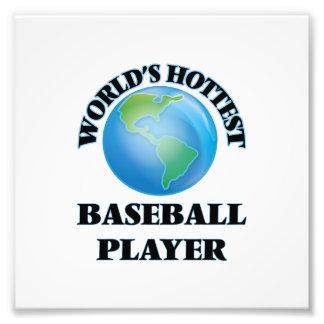 El jugador de béisbol más caliente del mundo cojinete