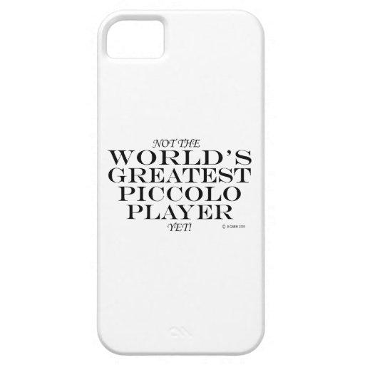El jugador de flautín más grande todavía iPhone 5 coberturas