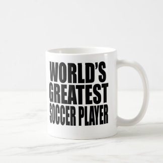 El jugador de fútbol más grande del mundo taza