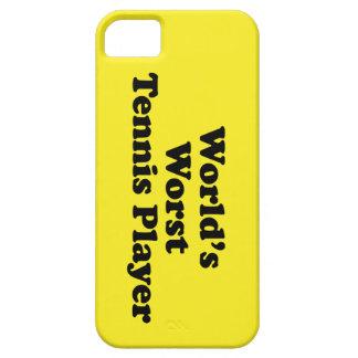 El jugador de tenis peor del mundo iPhone 5 cárcasas