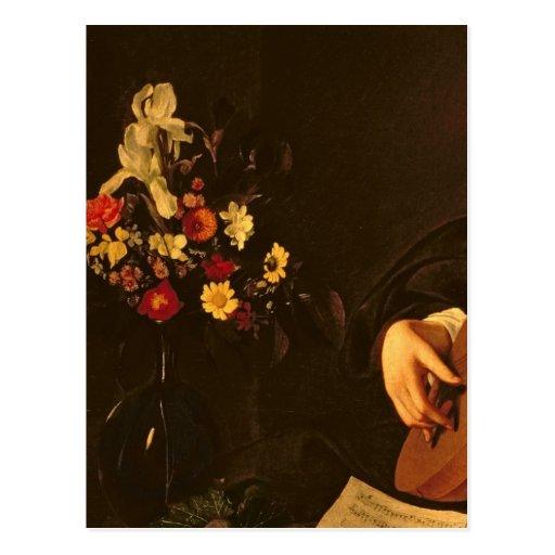 El jugador del laúd, c.1595 postales