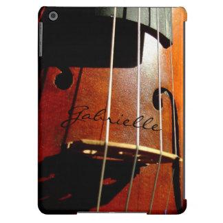 El jugador del violoncelo del músico personalizó funda para iPad air