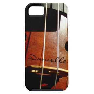 El jugador del violoncelo personalizó la caja del  iPhone 5 coberturas