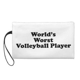 El jugador del voleibol peor del mundo