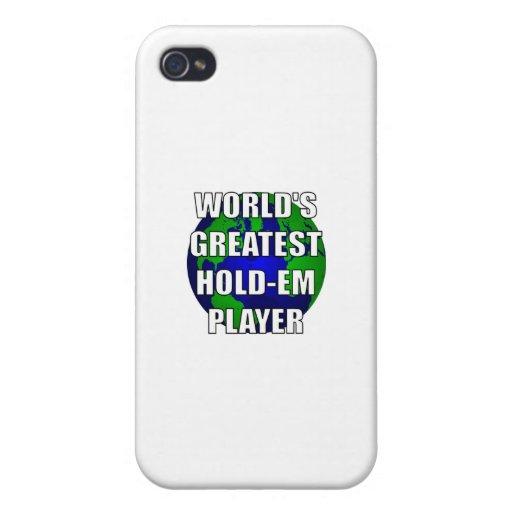 El jugador más grande Asimiento-Em del mundo iPhone 4 Cárcasas