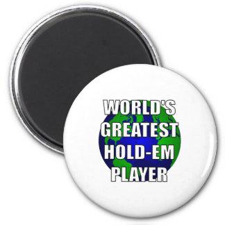 El jugador más grande Asimiento-Em del mundo Imán Para Frigorifico