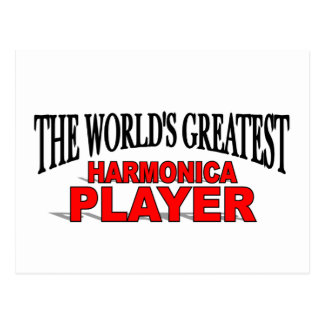 El jugador más grande de la armónica del mundo postales