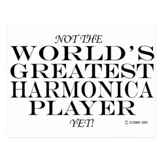 El jugador más grande de la armónica todavía postales