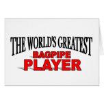 El jugador más grande de la gaita del mundo tarjetas