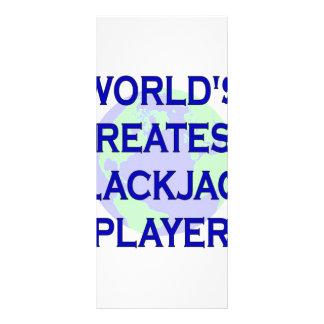 El jugador más grande de la veintiuna del mundo lonas personalizadas