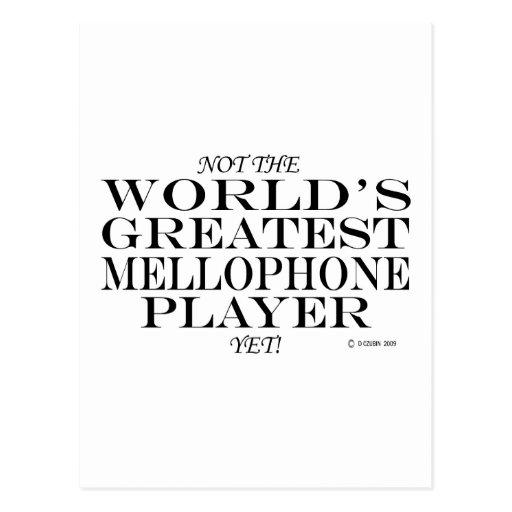 El jugador más grande de Mellophone todavía Tarjetas Postales
