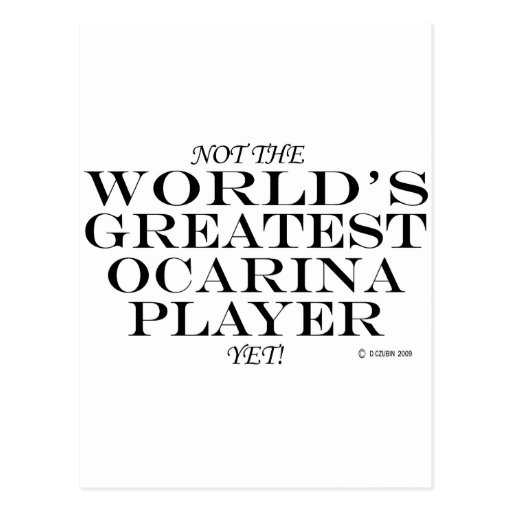 El jugador más grande de Ocarina todavía Postales