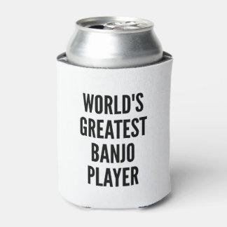 El jugador más grande del banjo de los mundos enfriador de latas