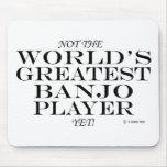 El jugador más grande del banjo todavía tapetes de ratón