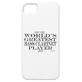 El jugador más grande del clarinete bajo todavía iPhone 5 fundas