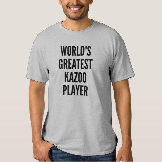 El jugador más grande del Kazoo de los mundos Remera