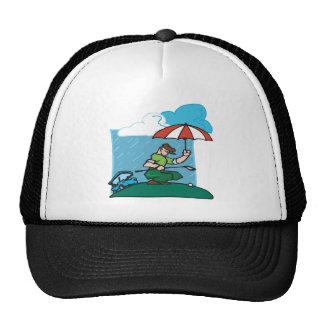 El jugar a través gorras
