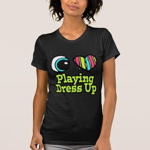 El jugar brillante del amor del corazón I del ojo  Camiseta