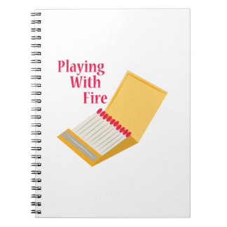 El jugar con el fuego cuaderno