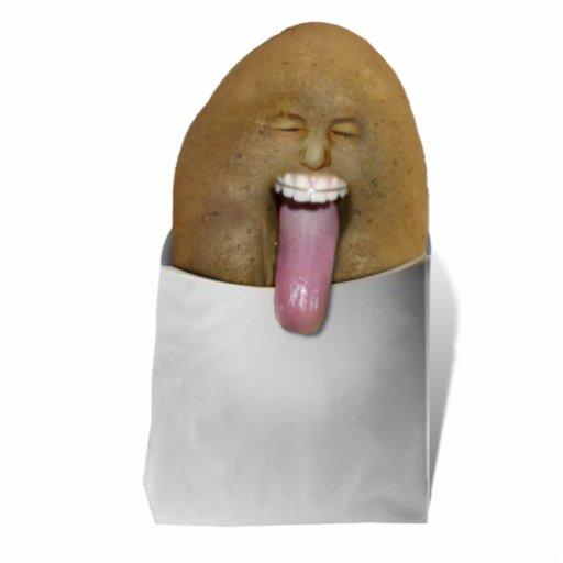 ¡El jugar con las patatas - BLECH! Escultura Fotografica