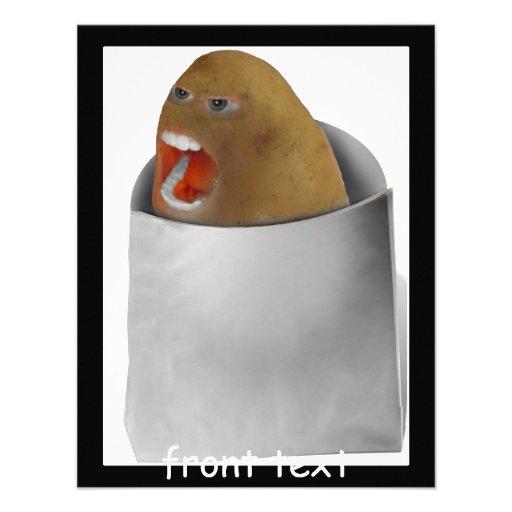 El jugar con las patatas - el chillón