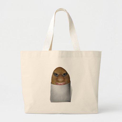 El jugar con las patatas - la nariz de la patata bolsa tela grande
