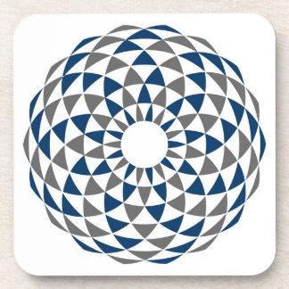 El jugar con los círculos posavasos de bebidas