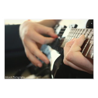 El jugar de la guitarra fotografías