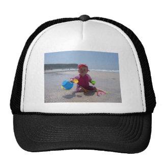 El jugar de la playa gorros
