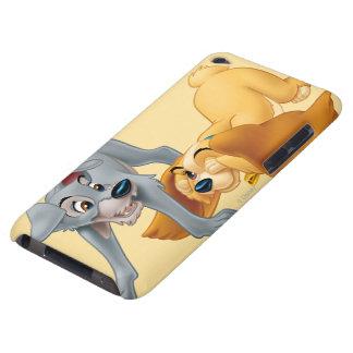 El jugar de la señora y del vagabundo iPod touch Case-Mate carcasa